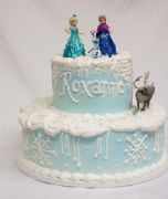 Frozen-birthday-cake-2-tier