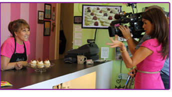 Patty's Cakes on ABC 7 Morning News