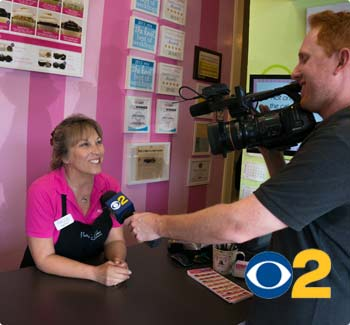 Patty's Cakes and Desserts on CBS2 news