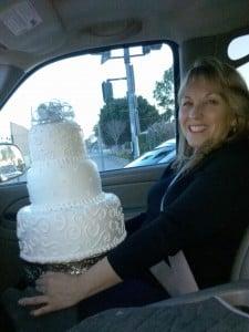 25th Wedding Aniversary Cake