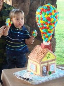Grandson up cake