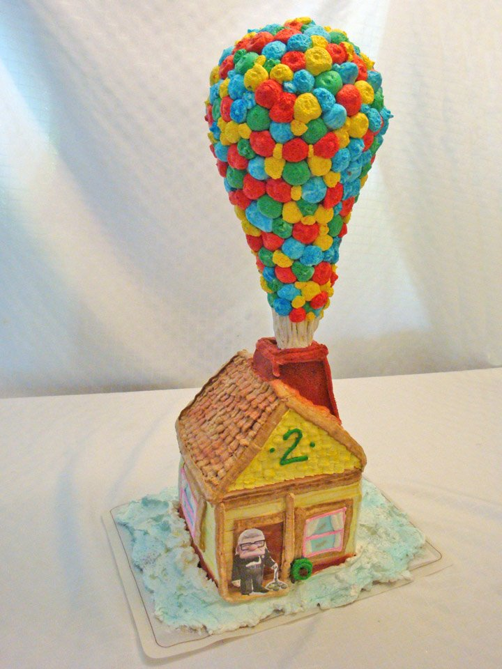 UP Balloon Birthday Cake