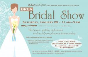 Brea Bridal Show postcard 2011