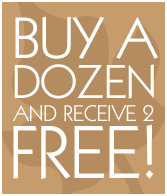 Buy a dozen and get 2 free