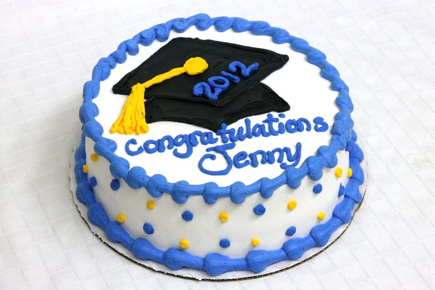 Black And Yellow Graduation Cake Archives Pattys Cakes And Desserts