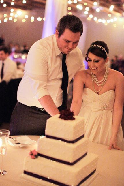 Wedding Cake Cutting - Patty's Cakes and Desserts