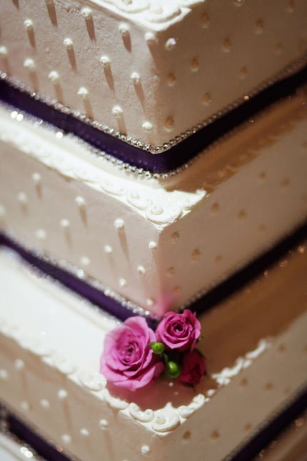 Wedding Cake at Strawberry Farms