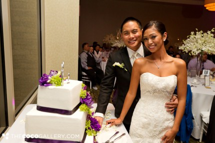 Wedding Couple with Patty's Cakes