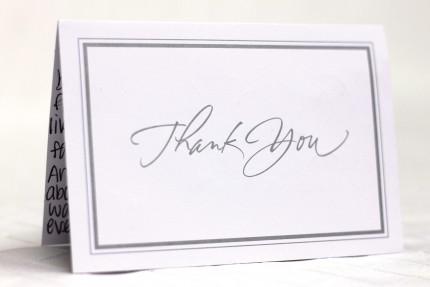 Thank you card Patty's cakes - Wedding Cake