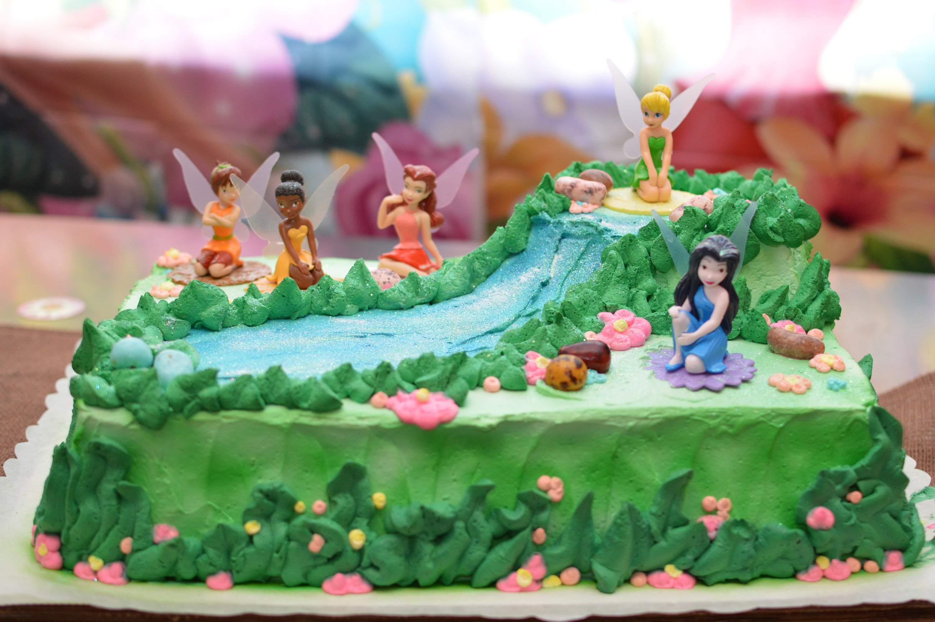 Strange Amazing And Wonderful Fairy Birthday Cake And Cupcakes For A Personalised Birthday Cards Sponlily Jamesorg