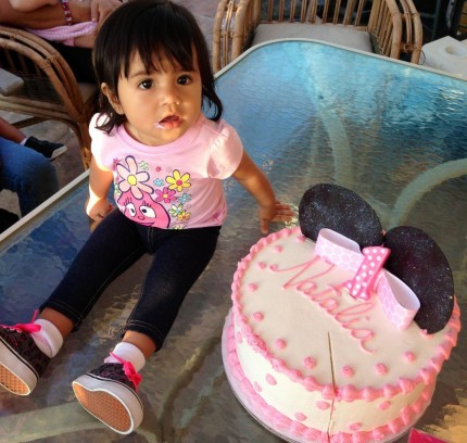 Natalia's First Birthday Cake