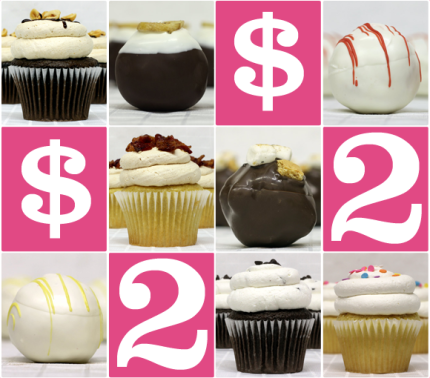$2 Tuesday - Cupcakes and Cake Balls