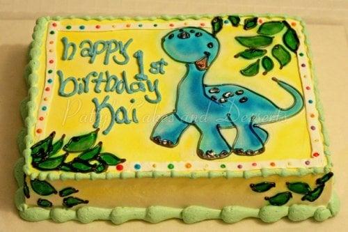 Fine Dinosaur Birthday Cakes Pattys Cakes And Desserts Personalised Birthday Cards Paralily Jamesorg
