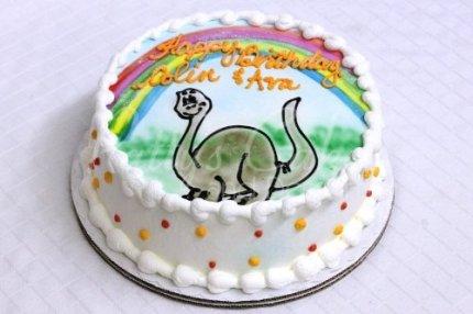 dinosuar-cake-round-rainbow