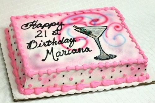 Cool 21St Birthday Cakes Personalised Birthday Cards Veneteletsinfo