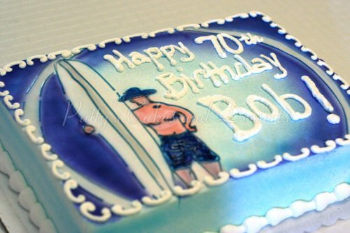 Miraculous Surfboard Cake Archives Pattys Cakes And Desserts Personalised Birthday Cards Petedlily Jamesorg