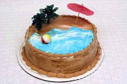 beach-cake-round