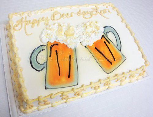Beer mug birthday cakes Archives Pattys Cakes and Desserts
