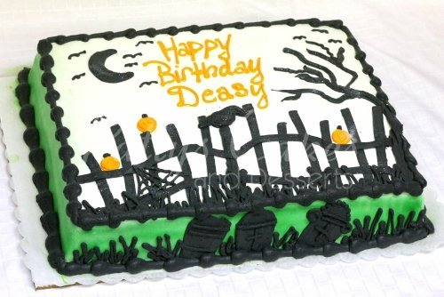 Amazing Halloween birthday cake Archives Pattys Cakes and Desserts