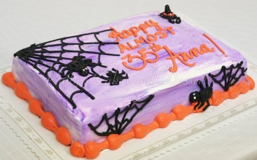 Spider birthday cake Archives Pattys Cakes and Desserts