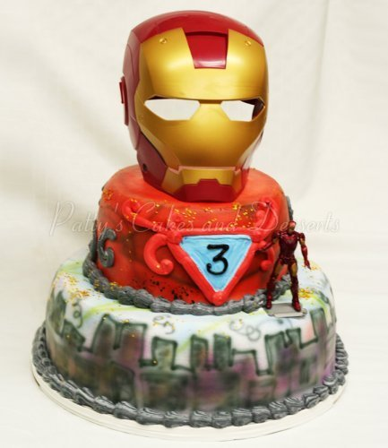 Images Of Iron Man Birthday Cakes : amazing birthday cake Archives - Patty s Cakes and Desserts