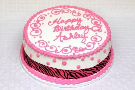 pink-zebra-round-birthday-cake