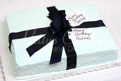 Marvelous Present Cakes Funny Birthday Cards Online Drosicarndamsfinfo
