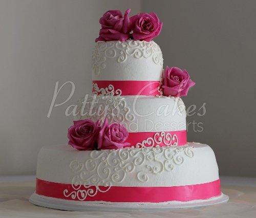 Amazing 3 tiered wedding cakes