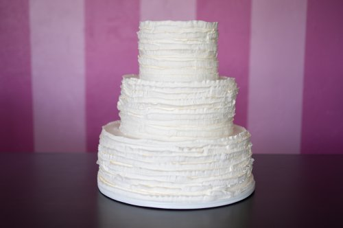 Simple wedding cake archives pattys cakes and desserts rustic ruffles wedding cake junglespirit Images