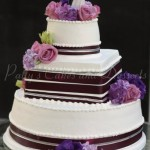 wedding-cake-round-square-brown-ribbon