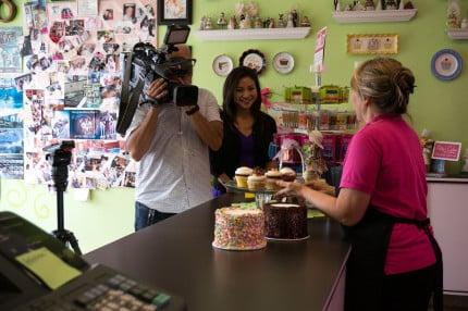 Patty's Cakes Fox 11 Cupcakes
