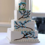 branches wedding cake