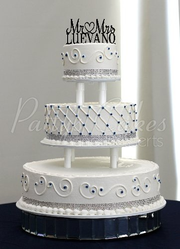 making a 3 tiered wedding cake beautiful 3 tier wedding cakes 17024