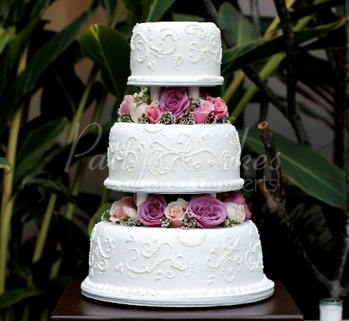 beautiful 3 tier wedding cakes. Black Bedroom Furniture Sets. Home Design Ideas