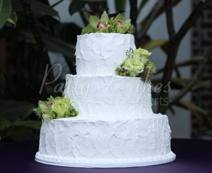 cake 3 tier texture homestyle basic round