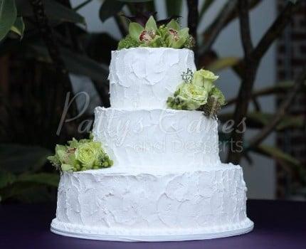cake 3 tier texture homestyle basic round