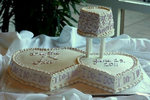 heart shaped wedding cake gorgeous shaped wedding cakes 15153