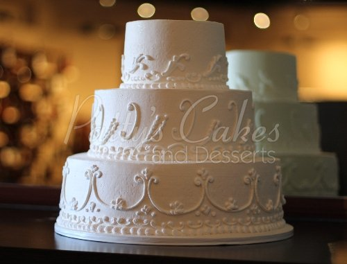 Amazing 3 tier wedding cakes archives pattys cakes and desserts white round wedding cake this beautiful 3 tier junglespirit Gallery