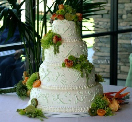 4-tier-white-wedding-cake-orange-fruit