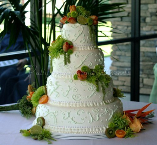 4 tier fruit wedding cake recipe 4 tier wedding cakes archives patty s cakes and desserts 10377