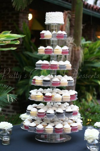 Tall wedding cupcake stand Archives - Patty\'s Cakes and Desserts