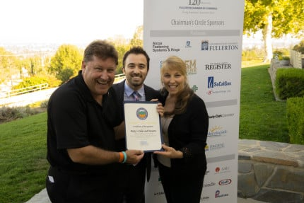 Fullerton Chamber of Commerce's 2015 Small Business of the Year