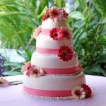 wedding cake brownstone cafe