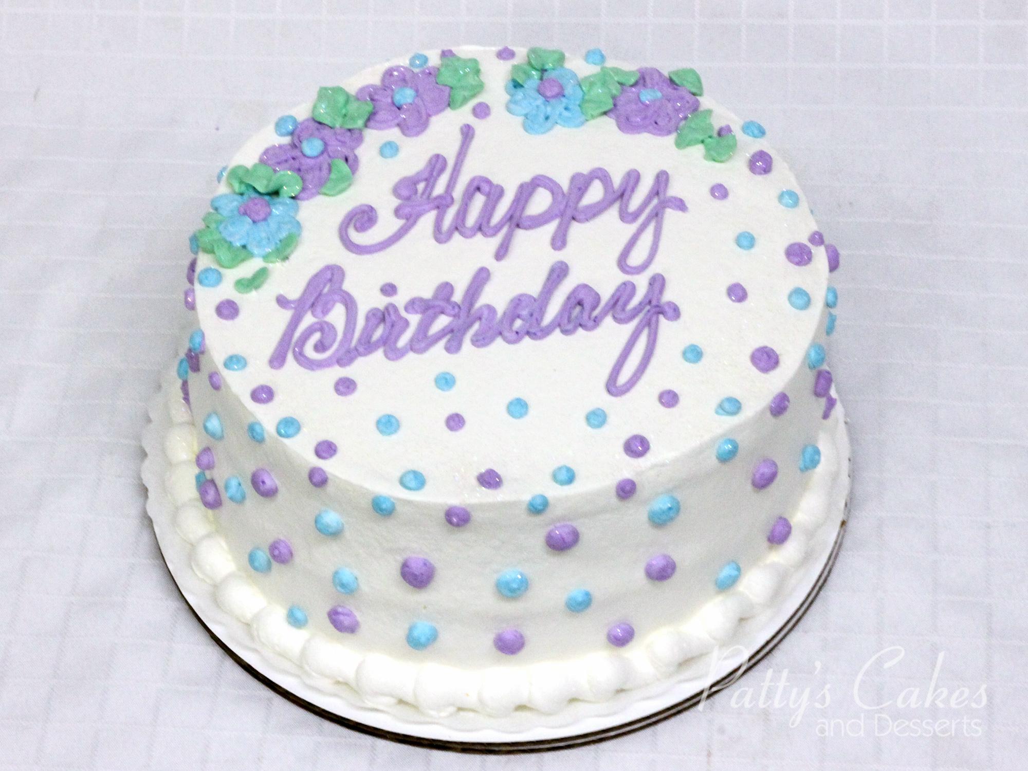violet-blue-green-white-birthday-cake