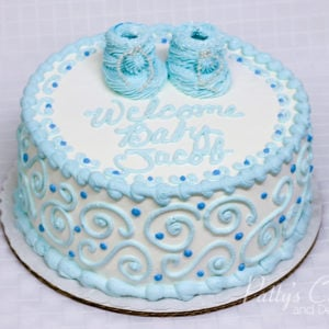 Cake Decorating Ideas For Baby Boy Shower