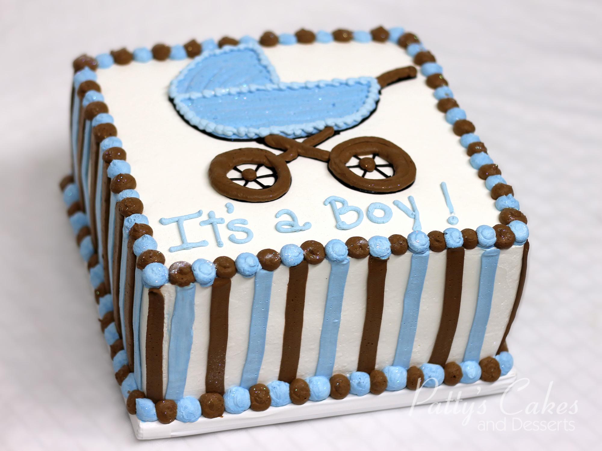 babyshower-cake-brown-blue