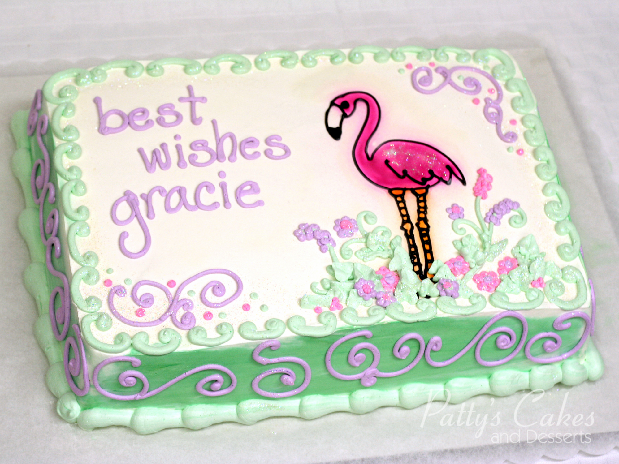 best-wishes-cake-flamingo