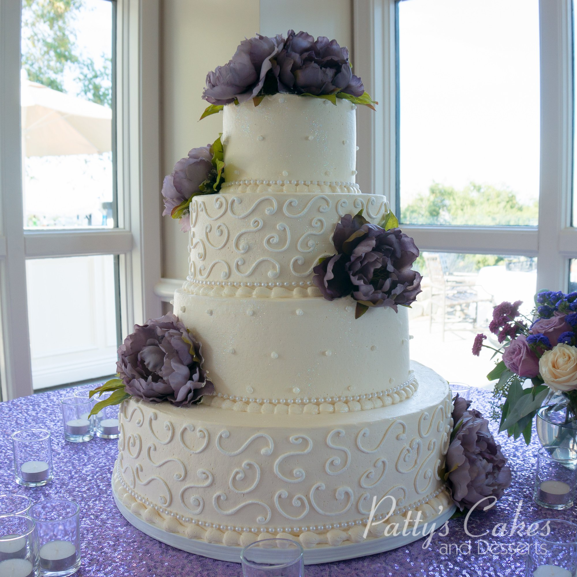 Photo Of A Classic 4 Tier Wedding Cake Patty S Cakes And