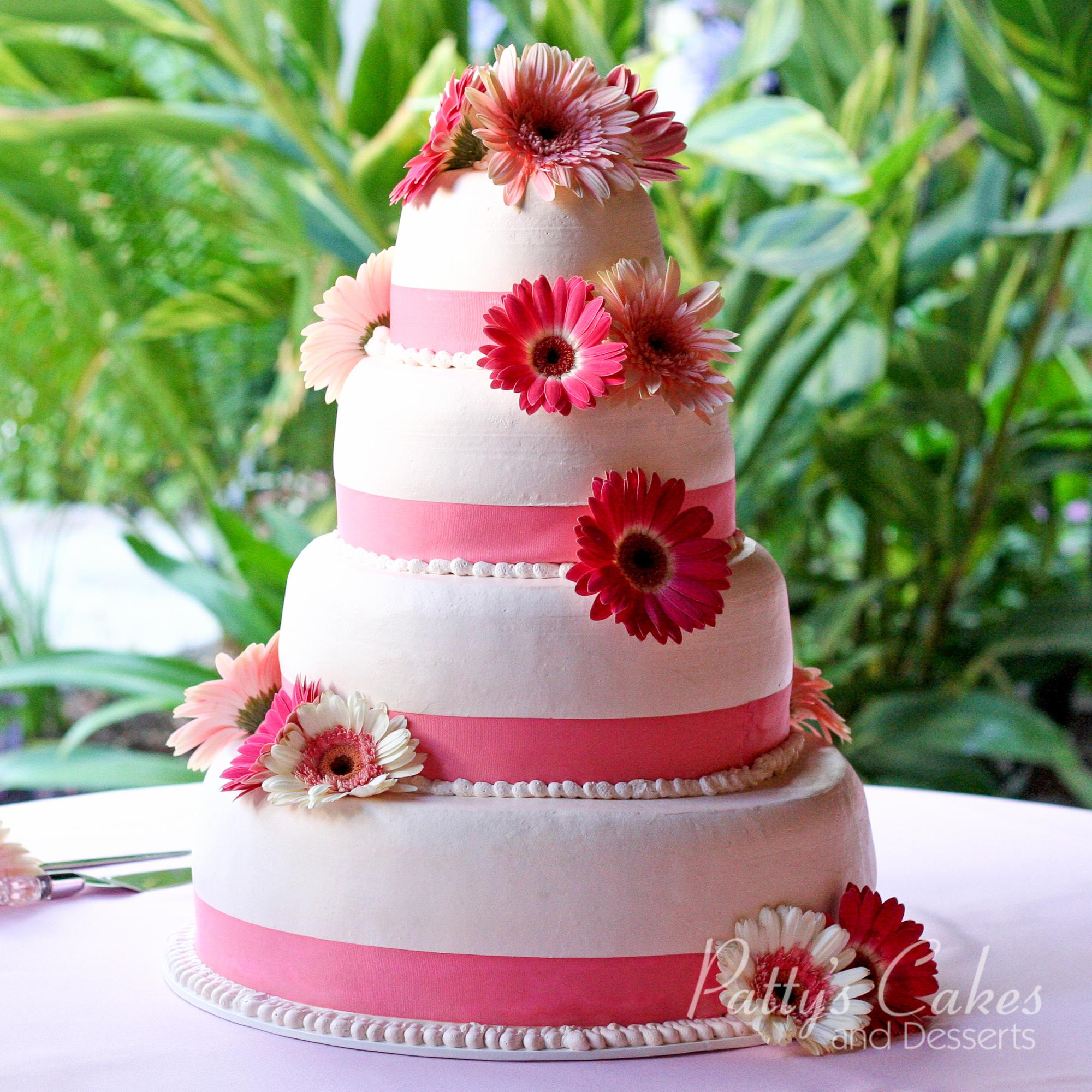 flowers wedding cake gorgeous
