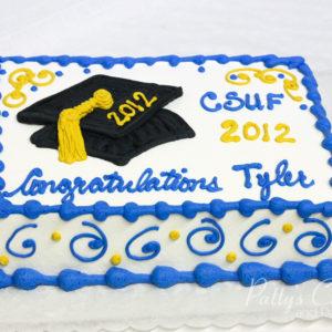 Graduation Cake Photo Gallery